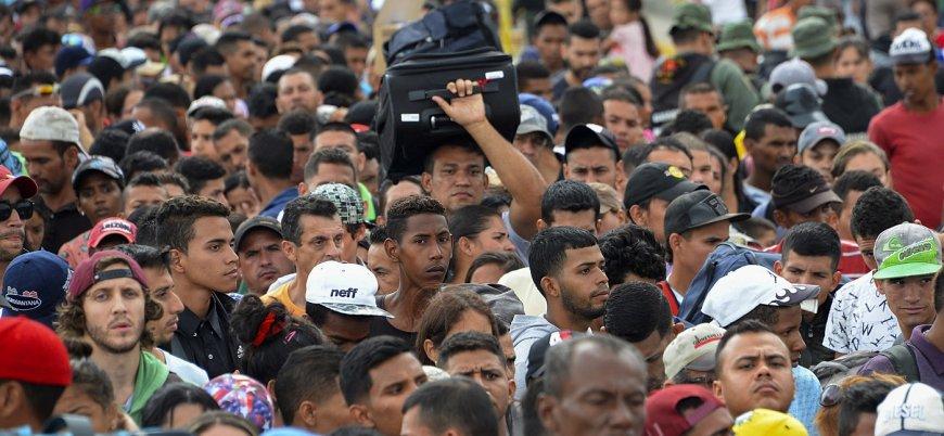Brezilya, kriz mağduru Venezuelalılara sınırı kapattı