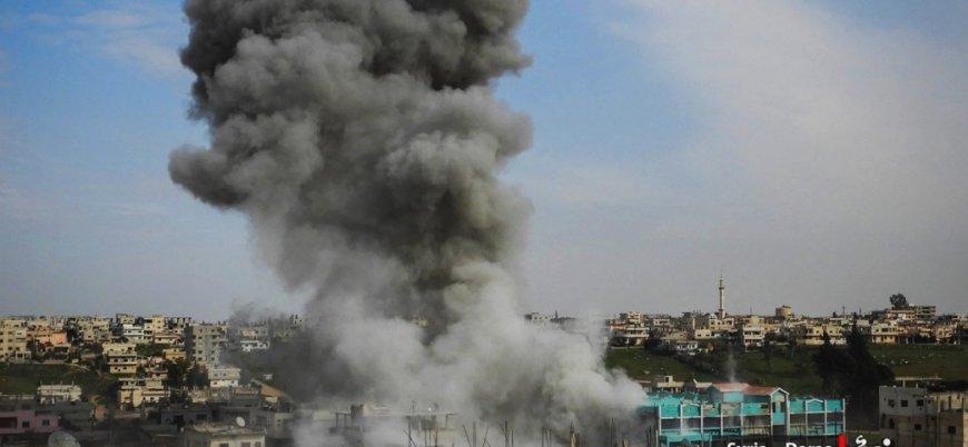 Rusya destekli rejimden bir ayda 528 varil bombası