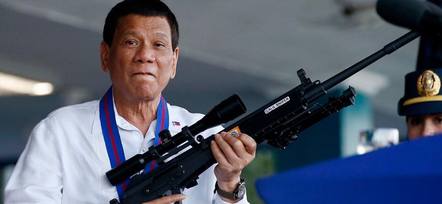Duterte'den ABD'ye: Kim oluyorsunuz da bizi uyarıyorsunuz?