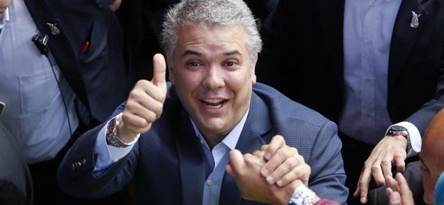 Kolombiya'da yeni devlet başkanı göreve başladı