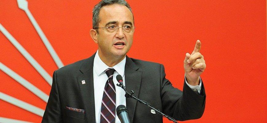 CHP'li Tezcan'dan Cumhurbaşkanı Erdoğan'a: Haddini bil huzur bozma