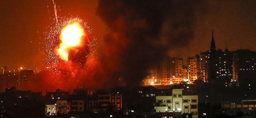 İsrail'in Gazze saldırısında hamile anne ve küçük kızı öldürüldü