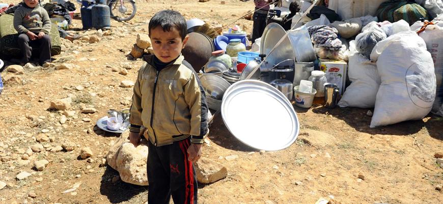 Esed rejimi dört ayda 129 bin kişiyi yerinden etti