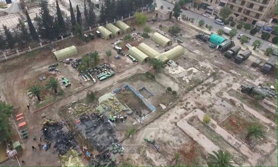 Muhalifler Halep'teki Rus askeri hastanesini böyle vurdu