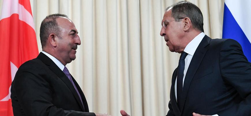 Sergey Lavrov Ankara'da Çavuşoğlu ile görüşecek