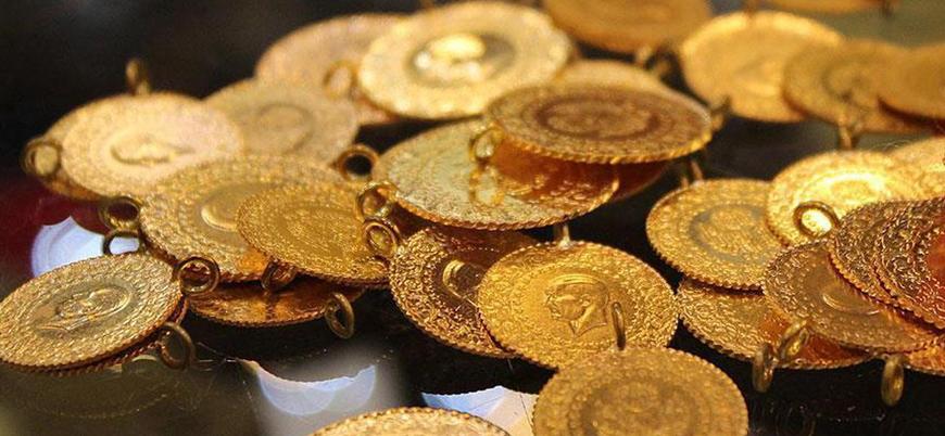 Altın fiyatları artıştan payını aldı