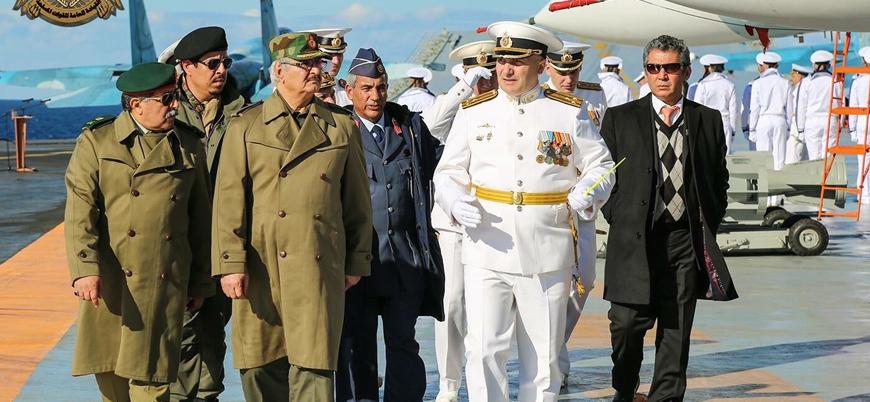 Hafter'in sözcüsünden Rusya'ya çağrı: Libya'ya müdahale edin, Türkiye'yi çıkarın