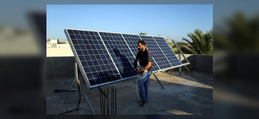 Gazze'de İsrail ambargosuna güneş panelli önlem