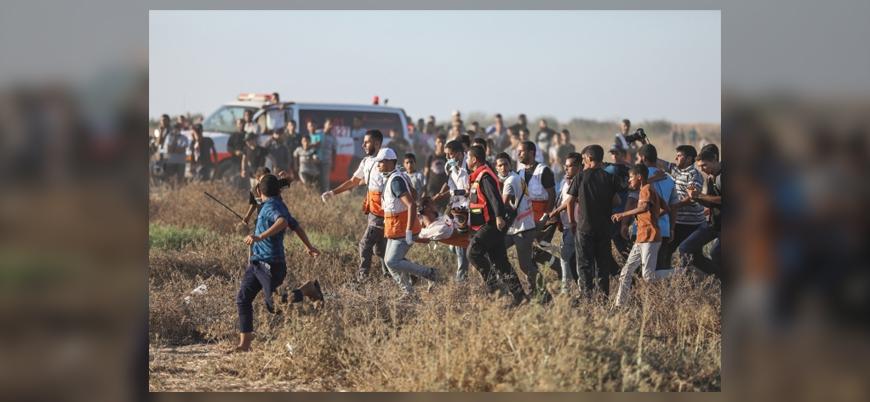 Gazze sınırındaki gösterilerde İsrail 3 kişiyi öldürdü