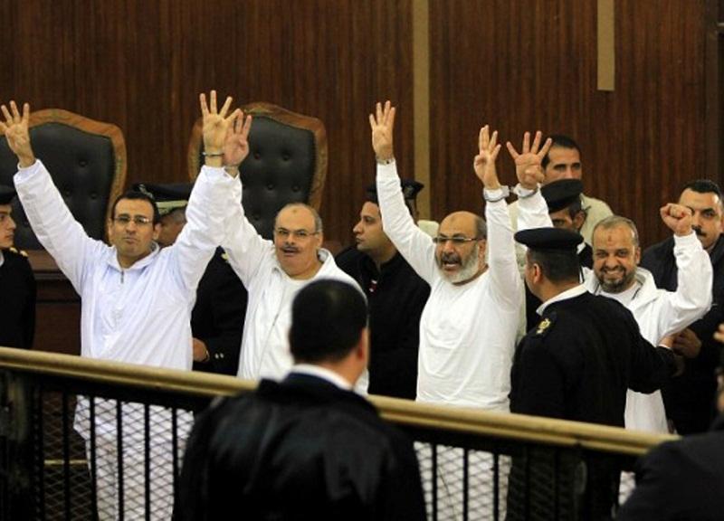 112 İhvan mensubuna hapis cezası