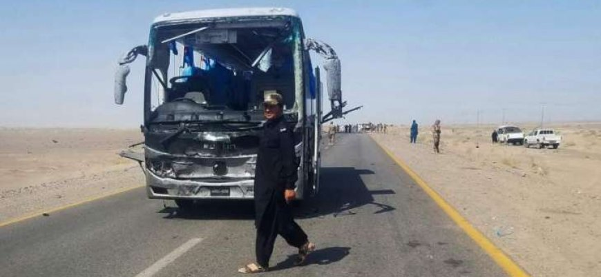 Pakistan'da Çinli mühendisleri taşıyan otobüse bombalı saldırı