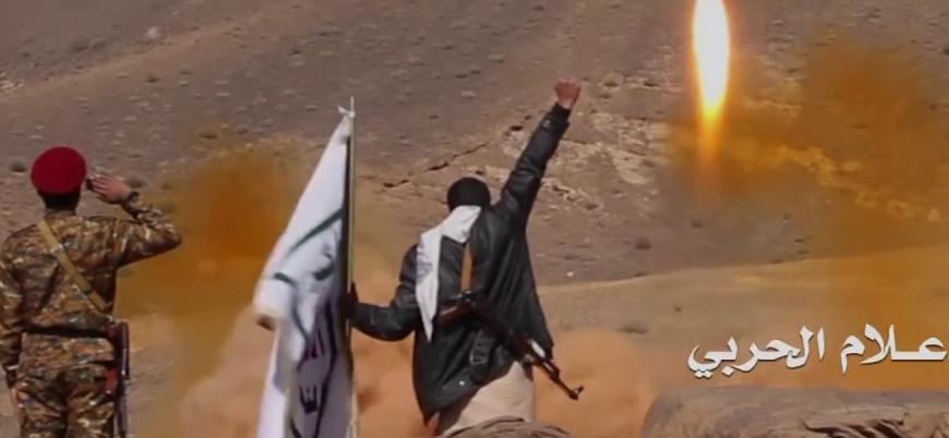 Husiler Suudi Arabistan'a füzeyle saldırdı