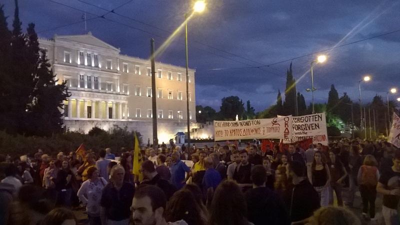 Atina sokakları yeniden karıştı