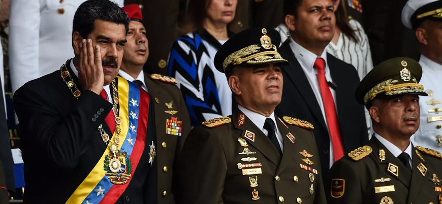Maduro'ya suikast girişiminde iki üst düzey askere gözaltı