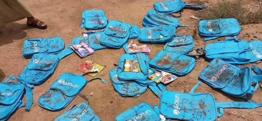 Suudi Arabistan'ın otobüs katliamında ölen Yemenli çocukların son görüntüleri