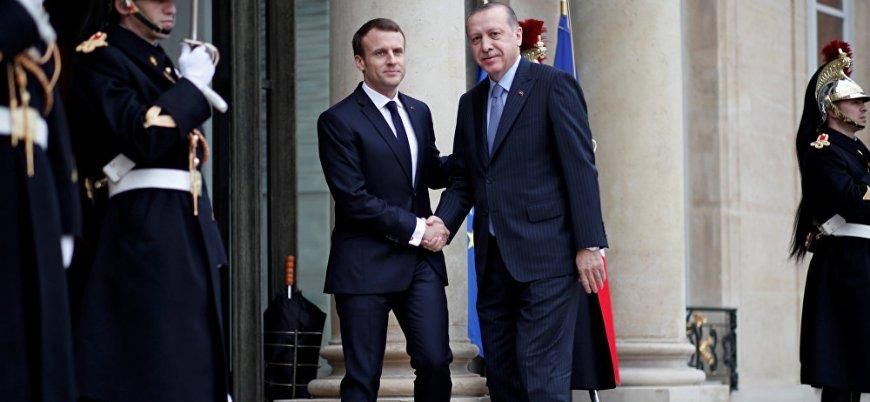 Erdoğan-Macron görüşmesi gerçekleşti