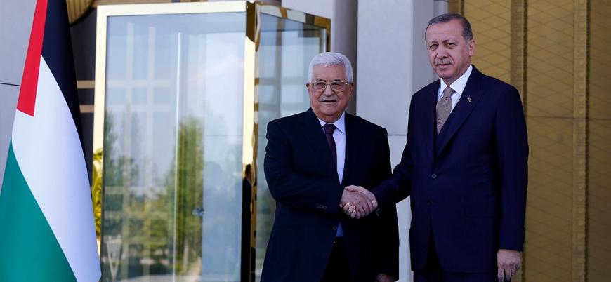 Erdoğan ile Mahmud Abbas görüştü