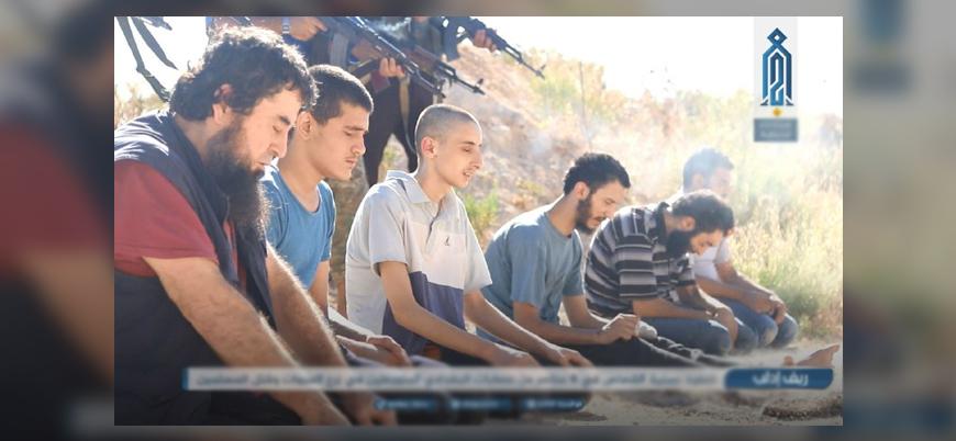 Tahriru'ş Şam 6 IŞİD mensubunu infaz etti