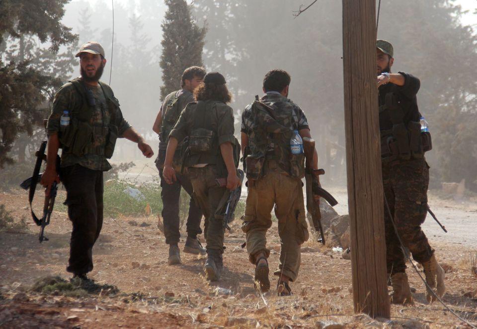 Halep düşmek üzere: Savaşçılar ölüm üzere sözleşti