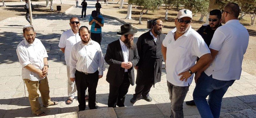 Radikal Yahudiler Mescid-i Aksa'ya baskın düzenledi