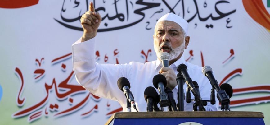 Hamas lideri İsmail Heniye: Tel Aviv'i vurabilecek füzelerimiz var