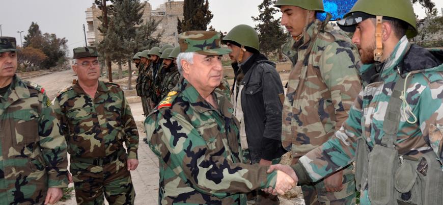 Esed rejimi Savunma Bakanı'nın konvoyuna silahlı saldırı