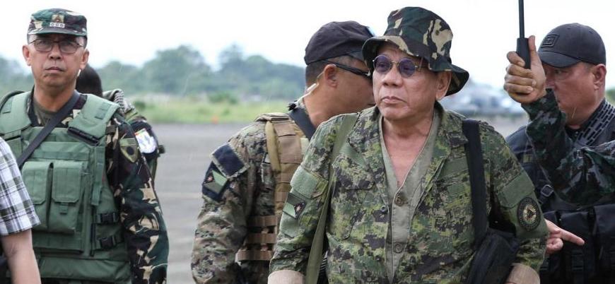 Duterte'den Çin'e savaş tehdidi