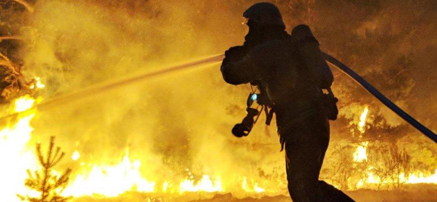Almanya'da orman yangını: 3 köy tahliye edildi