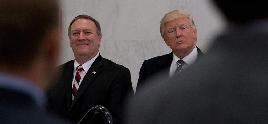 Trump Pompeo'dan Kuzey Kore'ye gitmemesini istedi