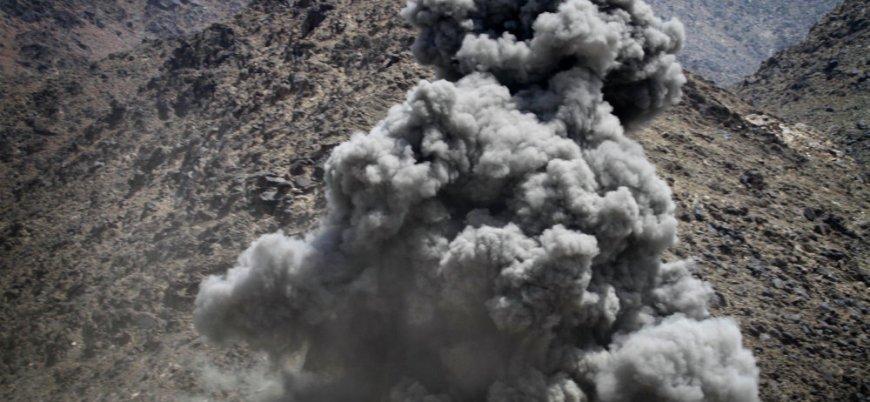 Tacik savaş uçaklarından Afganistan'a hava saldırısı