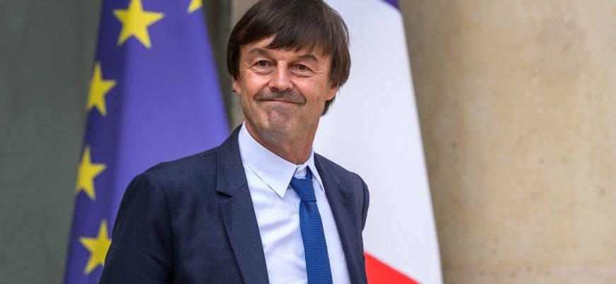 Fransız bakan canlı yayında istifa etti