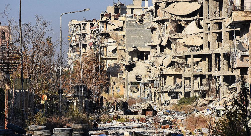 Doğu Halep'te sivil yerleşim yerlerine saldırı: 46 ölü