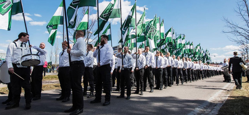 İskandinavya'da Naziler yükselişte