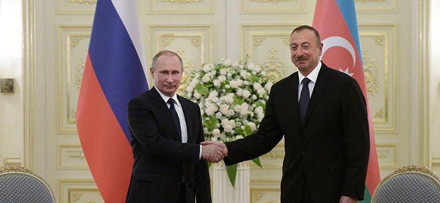 Aliyev ile Putin Rusya'da bir araya geldi