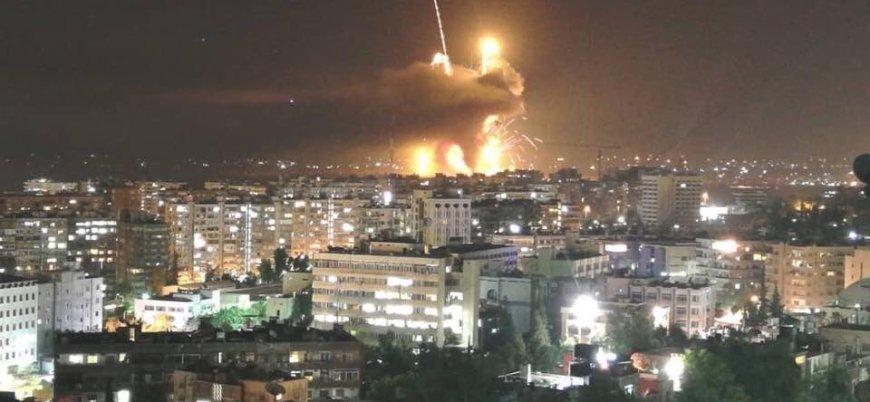 İsrail'den Esed rejimine koordine hava saldırıları