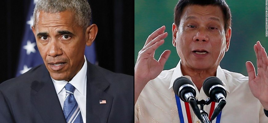 Duterte Obama'dan özür diledi