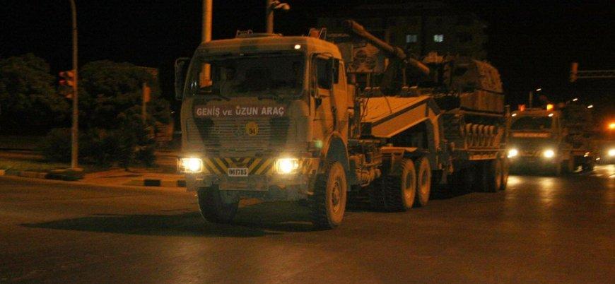 TSK'dan Suriye'ye geniş çaplı askeri sevkiyat