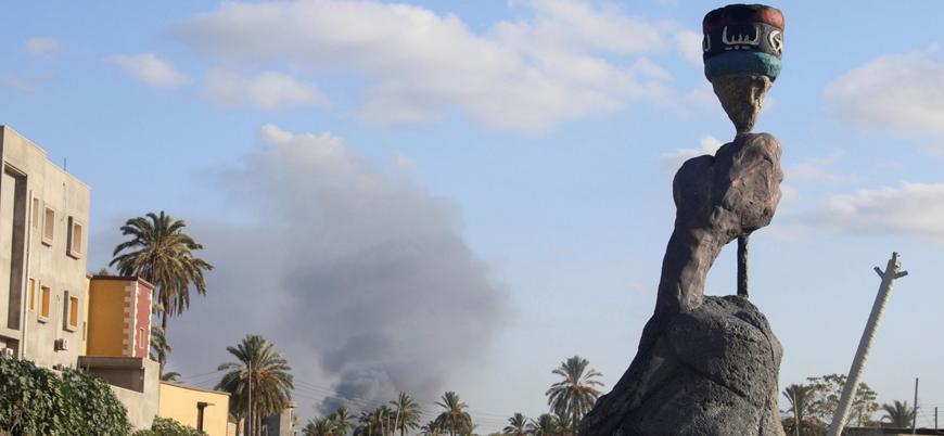 Libya'da karışıklık yüzünden bin 825 aile evini terk etti