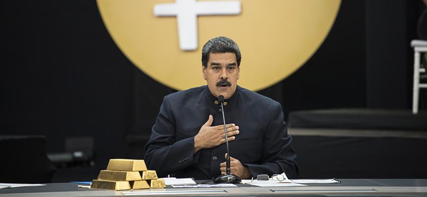 Venezuela'dan Birleşik Arap Emirlikleri'ne 23 ton altın