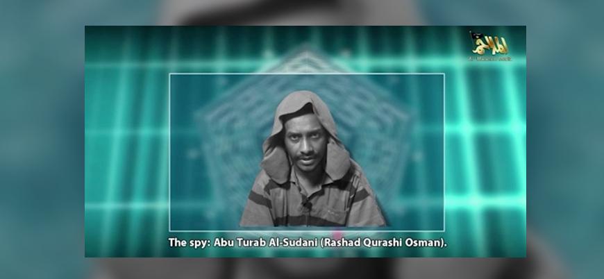 El Kaide'nin Yemen yapılanmasından 'casus' videosu