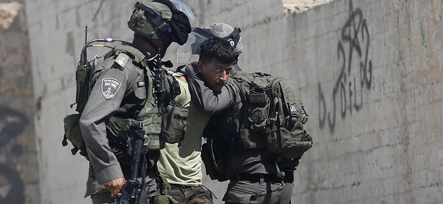 İsrail güçlerinin baskın ve gözaltı operasyonları devam ediyor