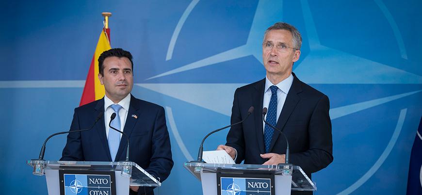 NATO'dan Makedonya kararı