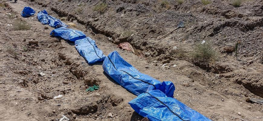 Deyr ez Zor'da rejimin öldürdüğü sivillere ait toplu mezar bulundu
