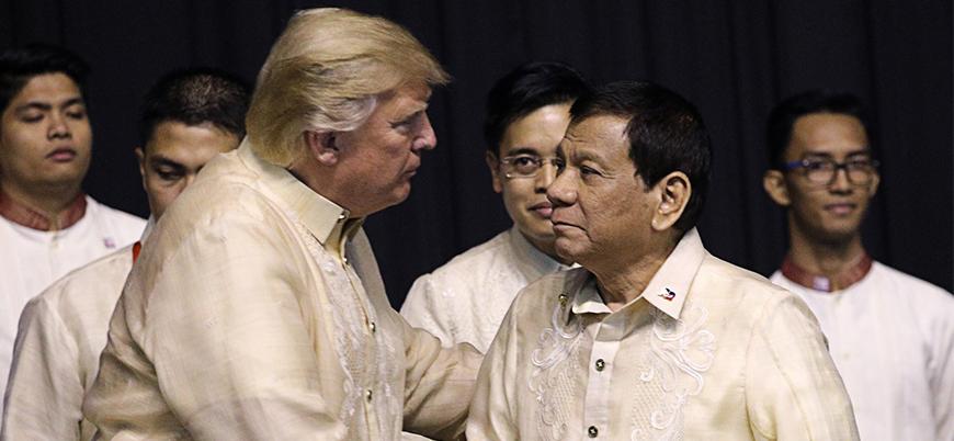 Duterte, ekonomik sıkıntılardan ABD'yi sorumlu tuttu