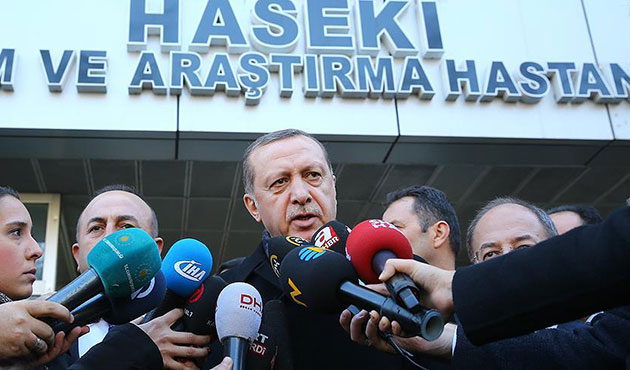 Erdoğan: Biz bu yola kefenlerimizi giyip çıktık