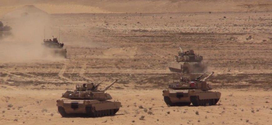ABD'nin de katıldığı 'Parlak Yıldız' askeri tatbikatı Mısır'da başladı