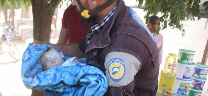 Rusya İdlib ve Hama'yı vurmayı sürdürüyor