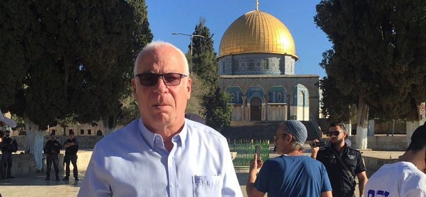İsrailli bakan Mescid-i Aksa'ya baskın düzenledi