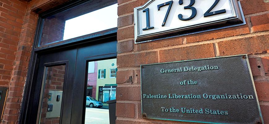 ABD'den Filistin Kurtuluş Örgütü ofisini kapatma kararı
