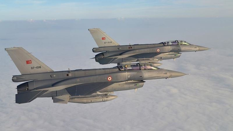 TSK uçakları El Bab'a bildiri attı: Zafer Allah'ın izni ile yakındır